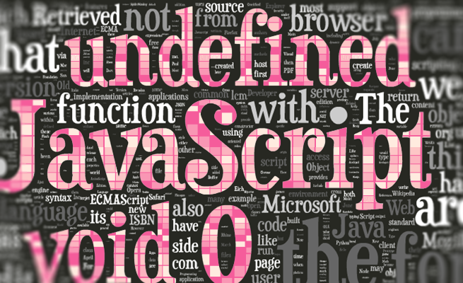JavaScriptで`undefined`の代わりに、`void 0`を使ったほうがいい理由