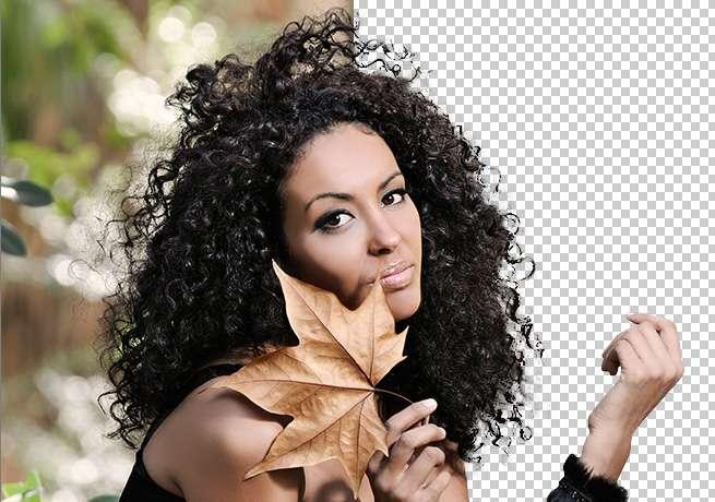 Photoshopで人物の髪の毛を「境界線の調整」を使って簡単に切り抜く方法