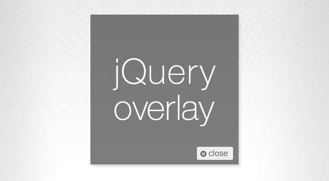 さくっと簡単!jQueryでコンテンツをオーバーレイ表示させる方法