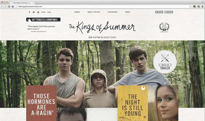The Kings of Summer, Now Playing in Select Cities
