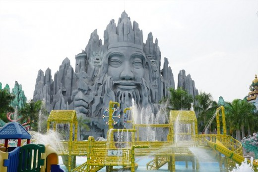まさに狂ったディズニーランド!ベトナムが誇る、スイティエンパークをご紹介するよ!!のアイキャッチ