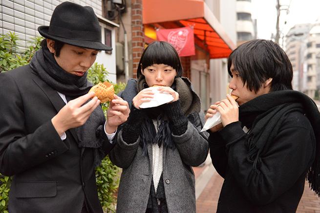 たい焼きは140円でした。