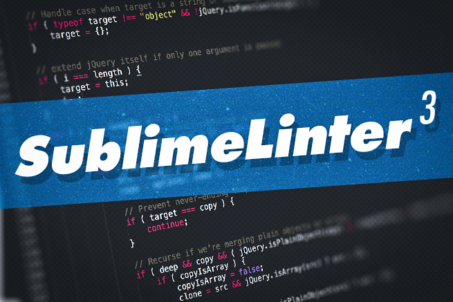 Sublime Text3で構文エラーをチェックするプラグインが超絶便利