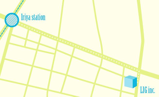 LIGの地図
