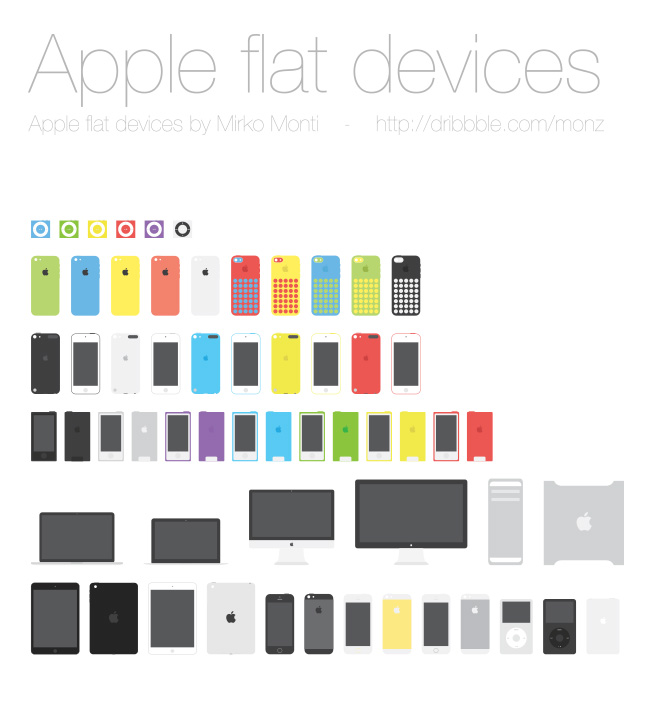 Apple Flat Devices