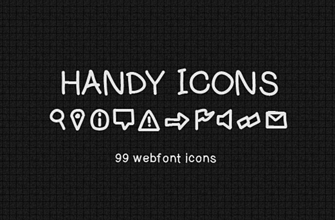 Handy Icons Vol.1