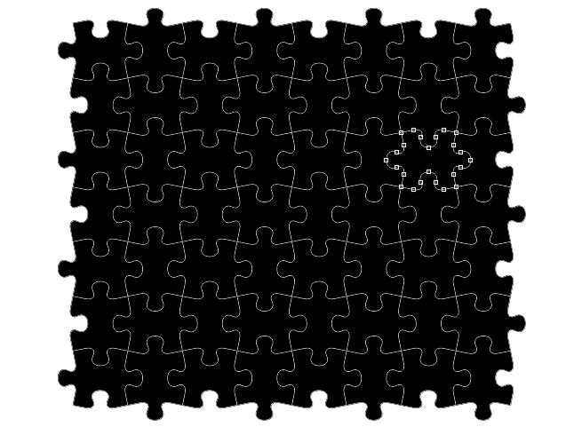 Photoshopでジグソーパズル風のデザインを作る方法 | 株式会社LIG - No.3