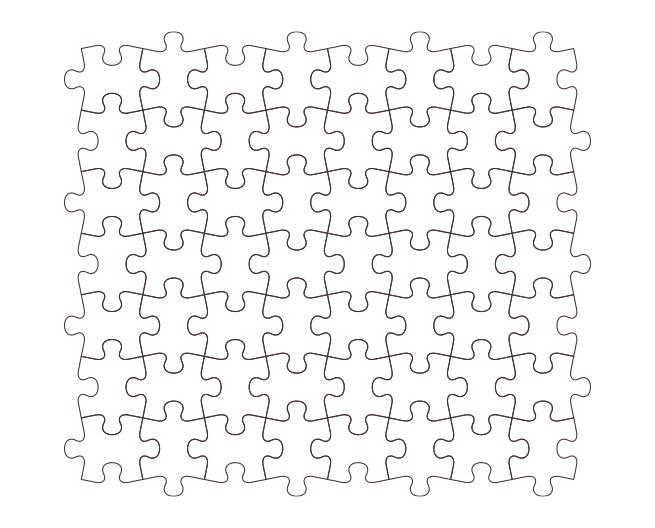 Photoshopでジグソーパズル風のデザインを作る方法 | 株式会社LIG - No.10