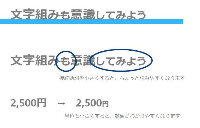 文字組み(修正)