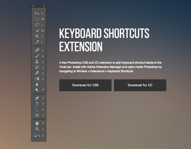 Keyboard Shortcuts Extension