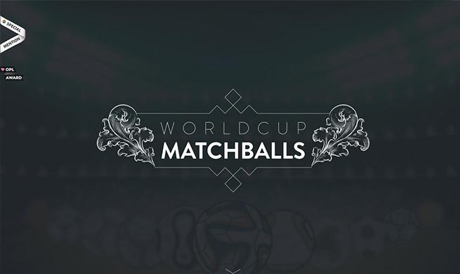 World Cup Match Balls