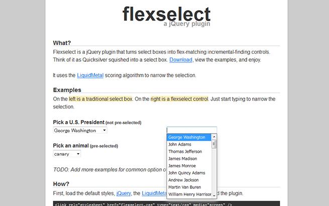 flexselect