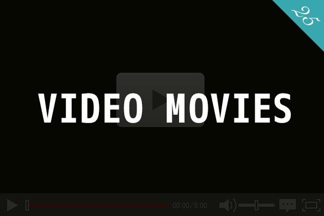 ビデオ動画を背景に使った、ユーザの印象に残るサイトまとめ25選