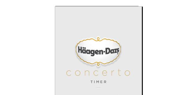 Haagen-Dazs Concerto Timer