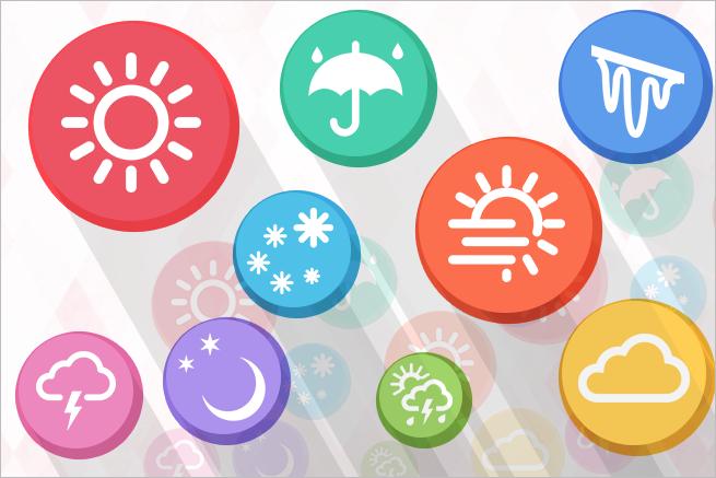外出が多い方にオススメ!お天気情報を収集できる便利なアプリ10選