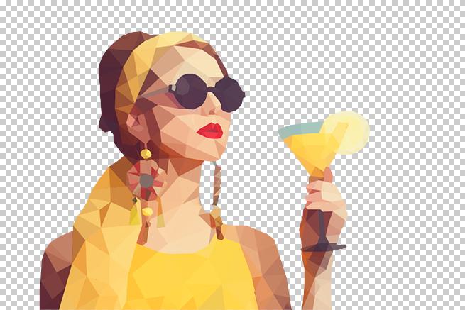 PhotoshopとIllustratorで画像をポリゴン風に加工する方法 | 株式会社LIG - No.11