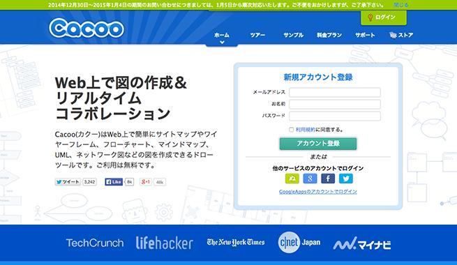 Cacoo   Web上でフローチャートやUMLなど様々な図を作成