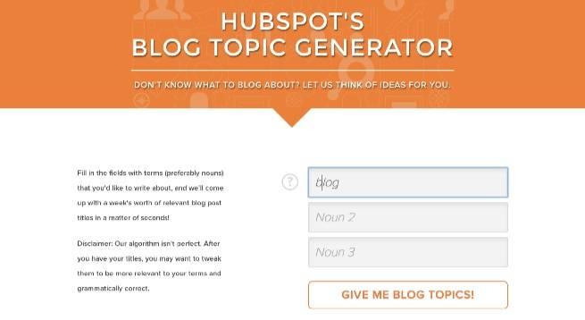 HubSpot_s_Blog_Topic_Generator