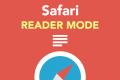 Safariのリーダーモードで集中して記事を読もう。使い方の説明と仕様検証の結果