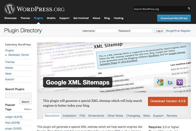 WordPress › Google XML Sitemaps « WordPress Plugins