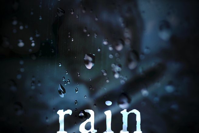 【Photoshop加工チュートリアル】写真に雨を降らせよう!