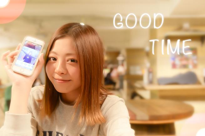 動画アプリ「GOOD TIME」でおしゃれに加工する方法♡