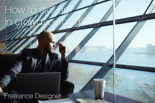 フリーランスデザイナーがクラウドソーシングで仕事の発注をもらい、スキルアップする方法