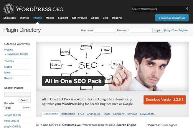 WordPress › All in One SEO Pack « WordPress Plugins