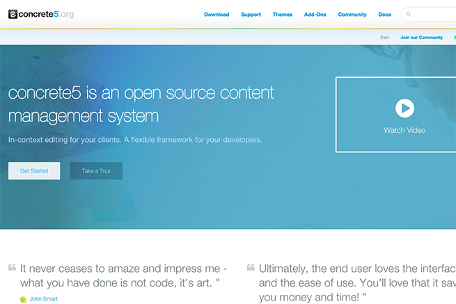 concrete5   Free CMS   Open Source Content Management System