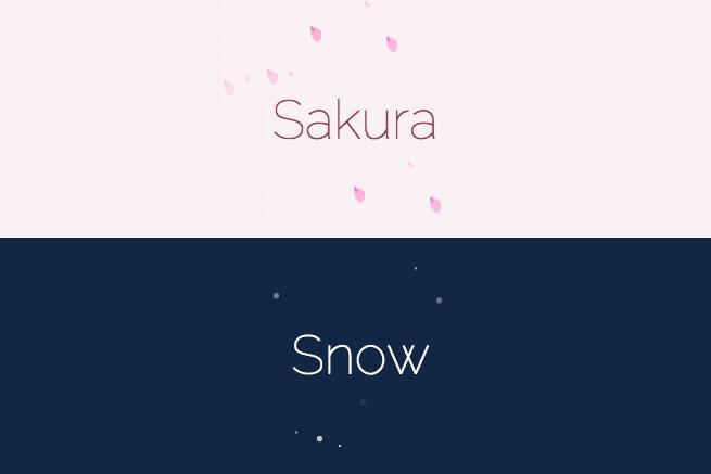 CSS3のanimation(アニメーション)で春うららかな桜を降らせてみた