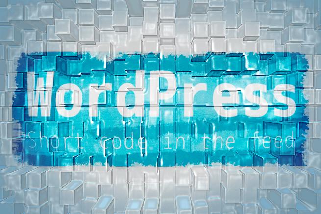 164041WordPressでフィード配信するときにショートコードを無効にする方法のアイキャッチ