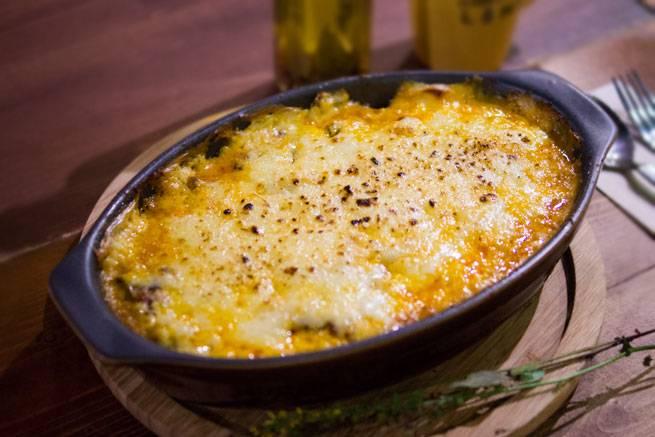 183999かぼちゃと茄子の簡単ムサカ(ギリシャ風グラタン)のレシピ【MAME'Sキッチン】のアイキャッチ