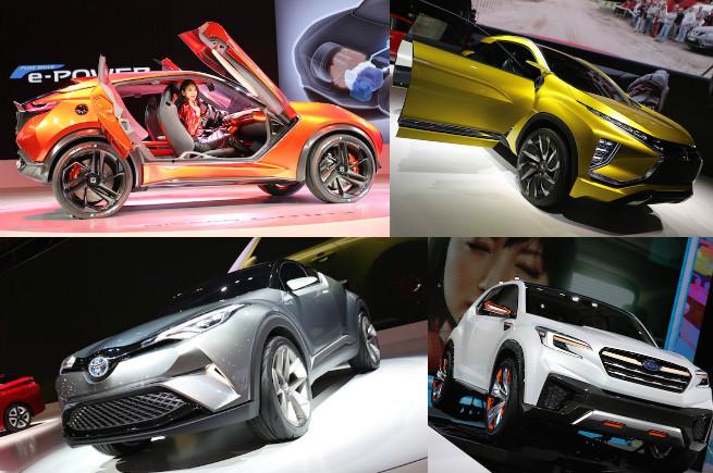 東京モーターショーのコンセプトカーを眺めて、現実から未来へ逃避しよう!のアイキャッチ