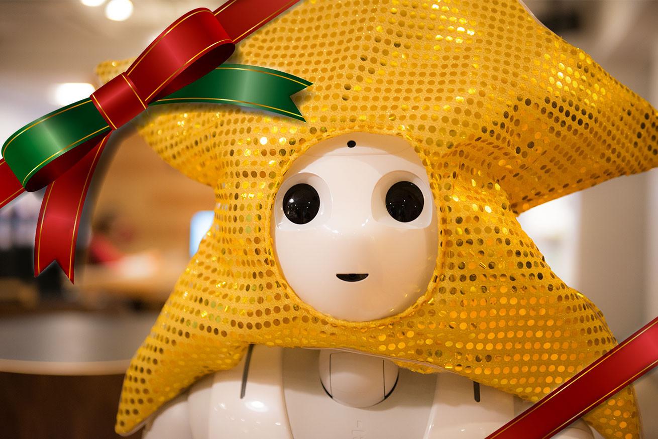 210865ロボット女子がオススメする!クリスマスプレゼントに贈りたいロボット7選のアイキャッチ
