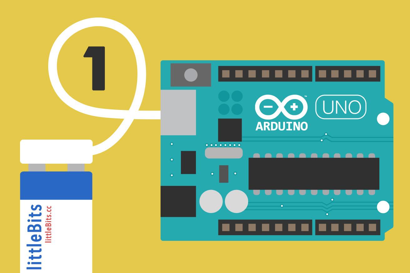 littleBitsのArduinoモジュールで簡単にプログラミングをはじめてみよう
