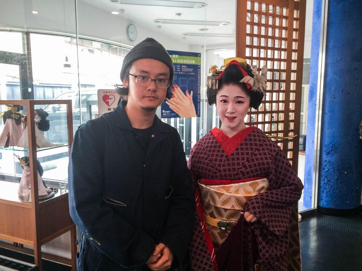 愛知で飴職人さんの仕事に惚れ、京都で舞妓はんに恋をした。