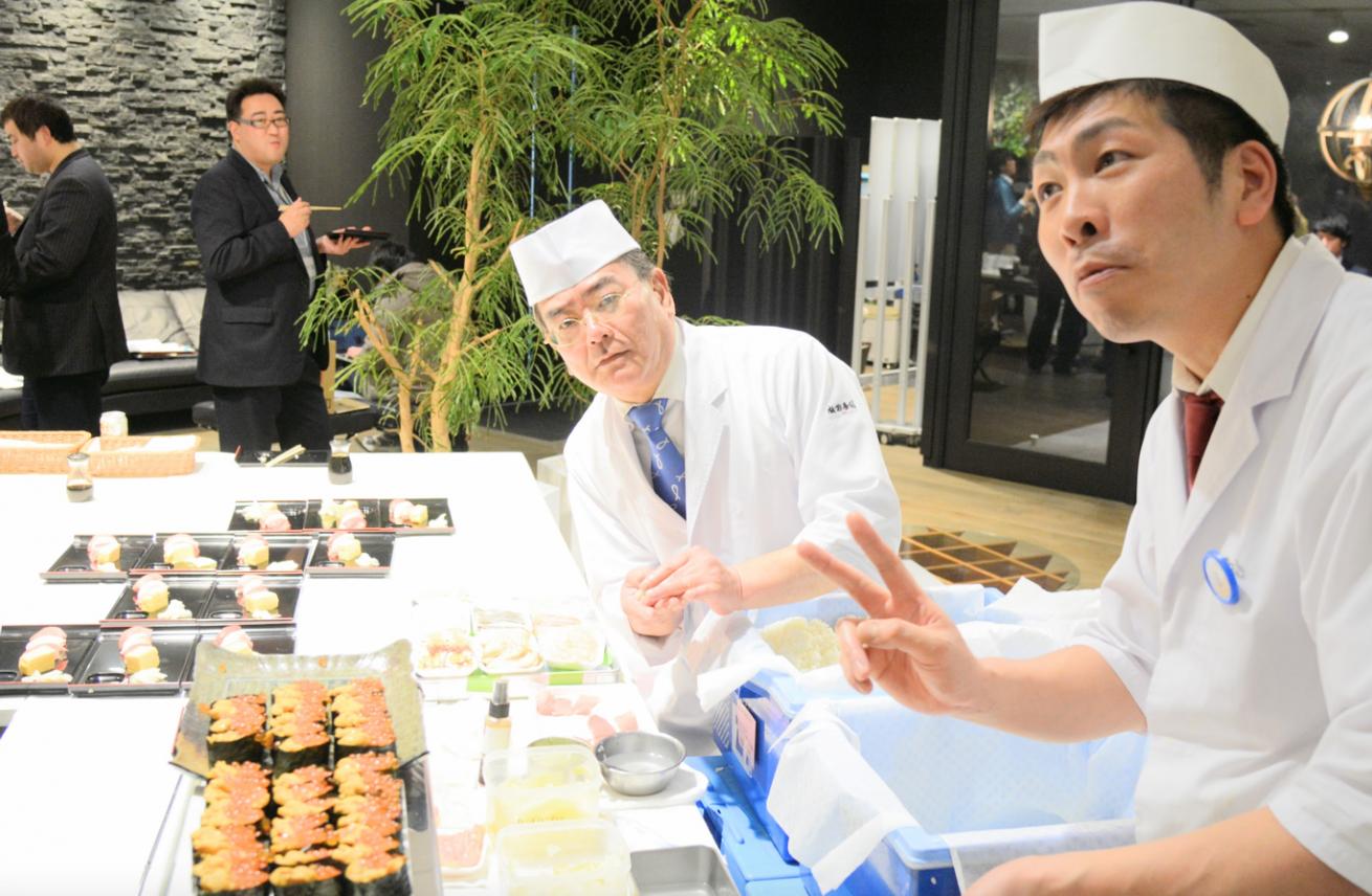 リクルートが高級寿司をタダで配ってると聞いて行ってきた。業界最強イベント「すしルート」レポート! #sushiruit