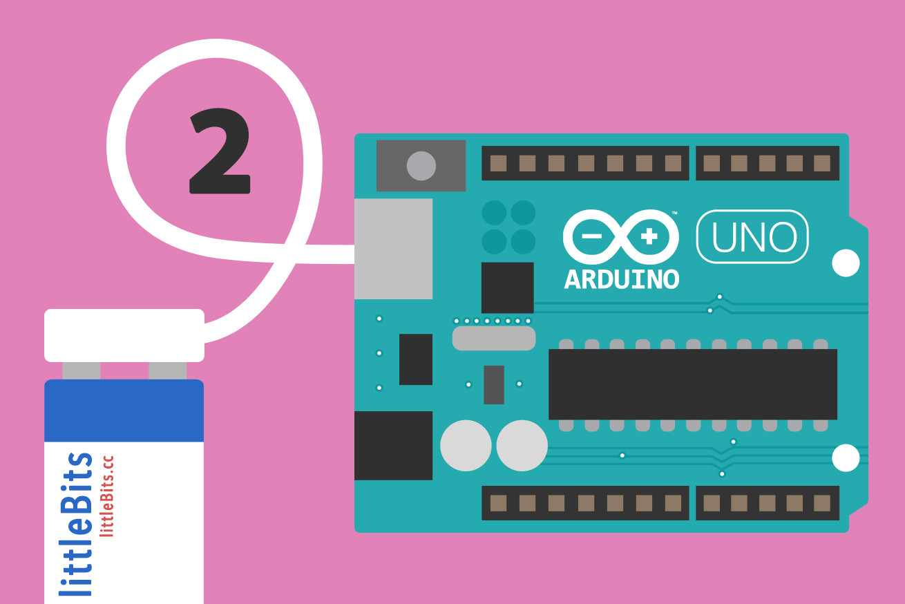 磁石で電子工作できる「littleBits」のArduinoモジュールでLチカしてみた(Windows・Mac)