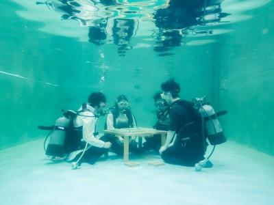 水中で麻雀をやるとどうなるの?実際にやってみた。のアイキャッチ