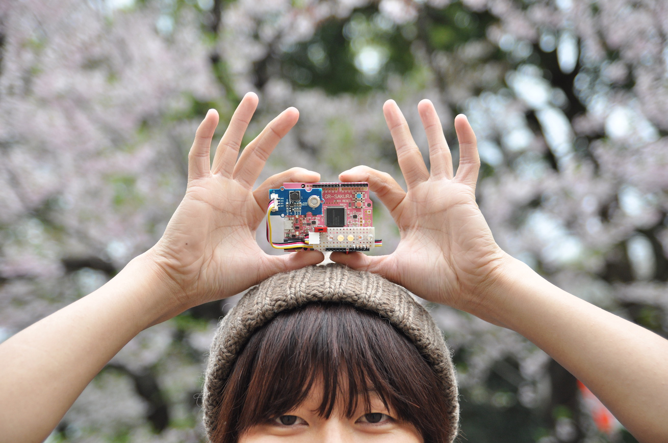 264119さくら色のマイコンボード「GR-SAKURA」とLEDで、お花見にも使えるアルコールチェッカを作ろう!のアイキャッチ