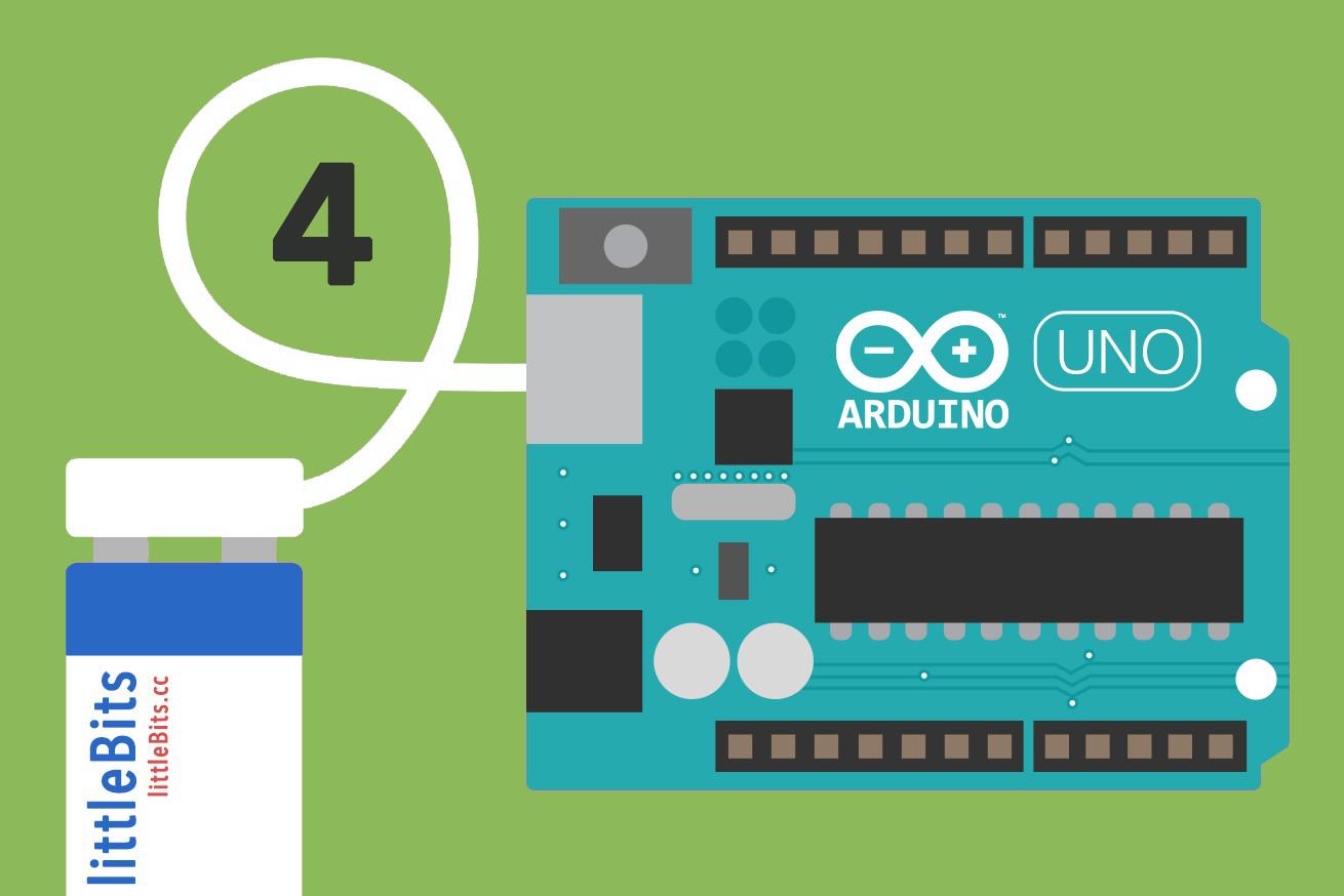 280761磁石で電子工作できる「littleBits」のArduinoモジュールで、入出力の連携をしてみようのアイキャッチ