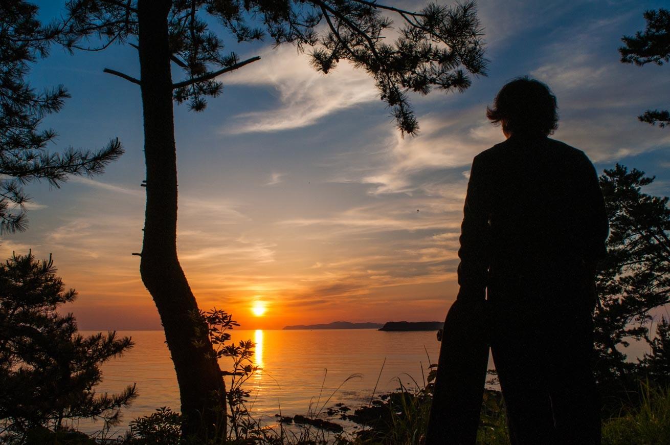 281365萩の夕焼けがめちゃくちゃ綺麗で、旅って最高だなって思いました。のアイキャッチ