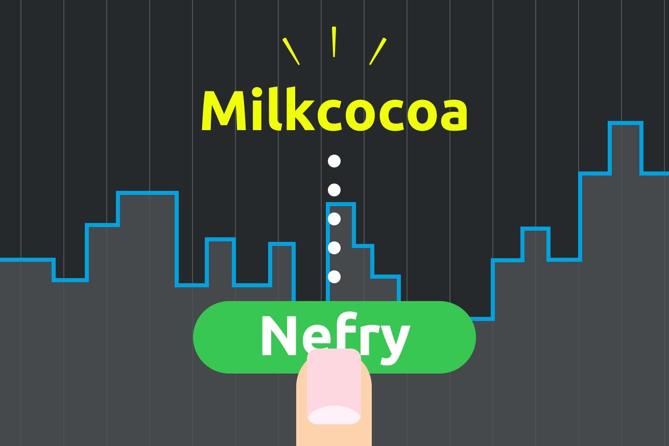 282918NefryとMilkcocoaを連携させて、WebサイトにリアルタイムでPush通知してみるのアイキャッチ